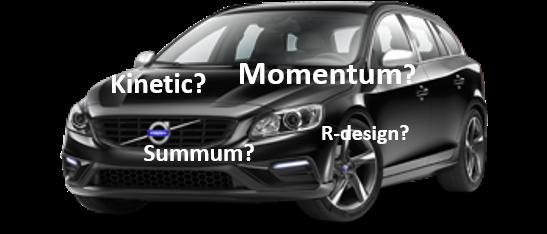 Ta enkelt reda på vilket paket du har på din Volvo!